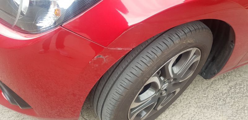 Mazda accident and dent repair Nottingham: Swipe To View More Images