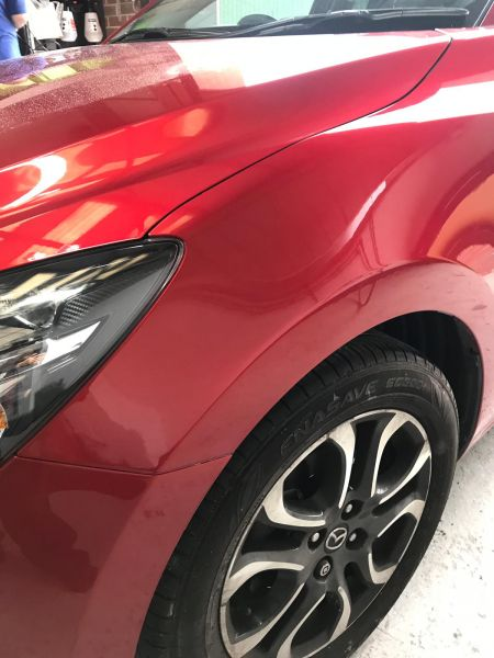 Mazda accident and dent repair Nottingham.: Swipe To View More Images