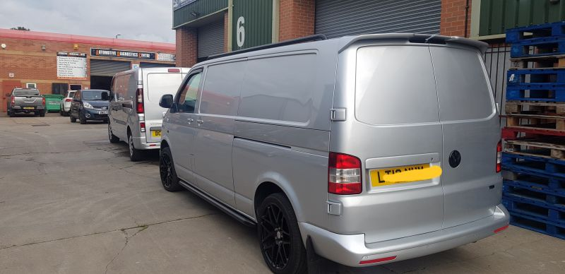 Light commercial body repair Nottingham : Swipe To View More Images