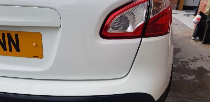 Nissan dent repair Nottingham : Swipe To View More Images