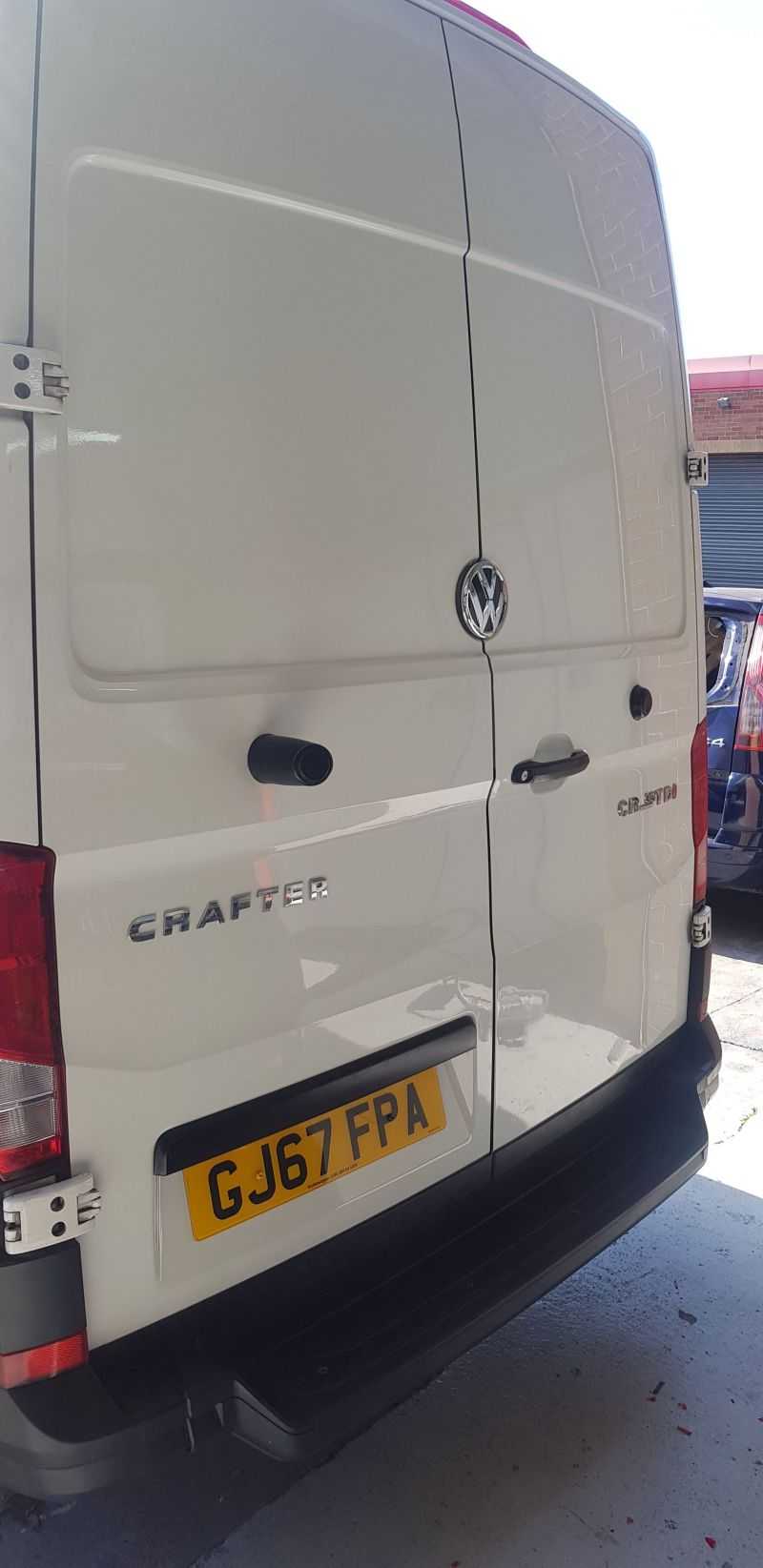 Body repairs commercial vehicle Nottingham.: Swipe To View More Images