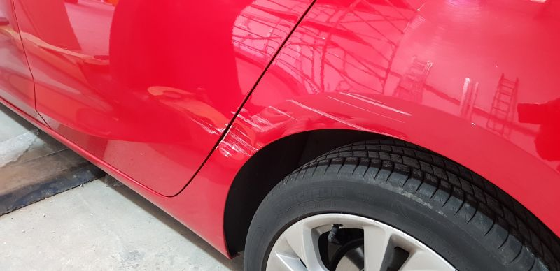 Vauxhall dent repair Nottingham : Swipe To View More Images