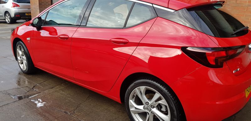 Vauxhall dent repair in Nottingham by Scratchmaster : Swipe To View More Images