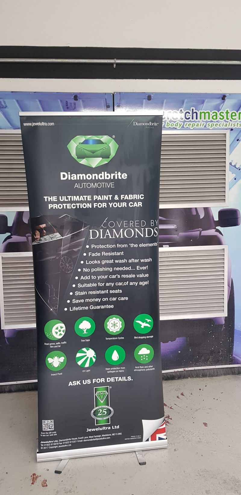 Diamondbrite paint protection by Scratchmaster Nottingham : Swipe To View More Images