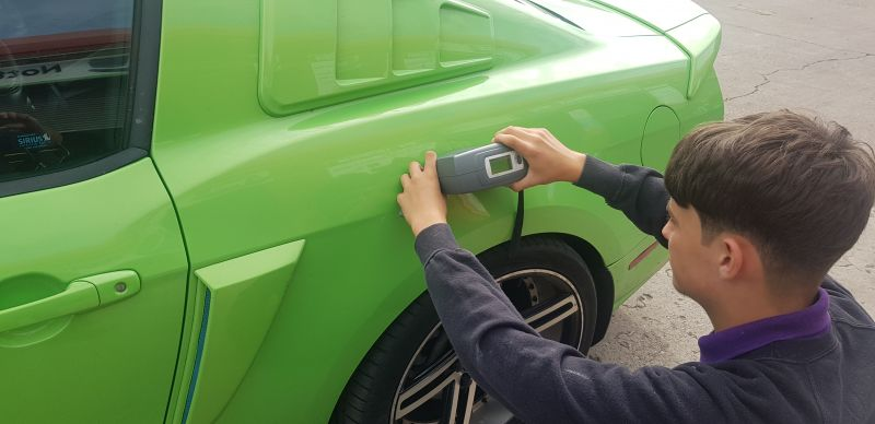 Car body repair and professional paint colour matching.: Swipe To View More Images