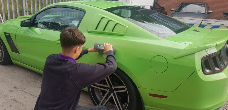Professional colour matching for car body repairs in Nottingham by Scratchmaster : Swipe To View More Images