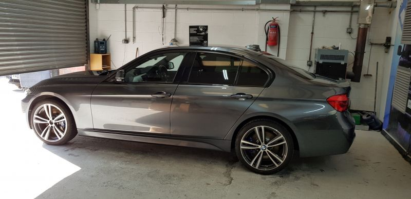 Diamondbrite paint protection for BMW in Nottingham applied by Scratchmaster : Swipe To View More Images