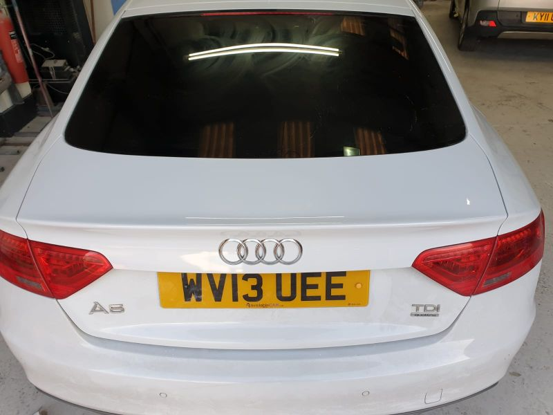 Audi dent repair in Nottingham by Scratchmaster : Swipe To View More Images