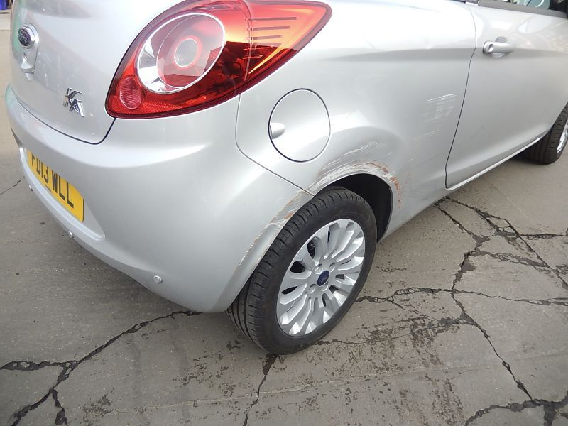 Ford Accident Repair in Nottingham by Scratchmaster (BEFORE): Swipe To View More Images