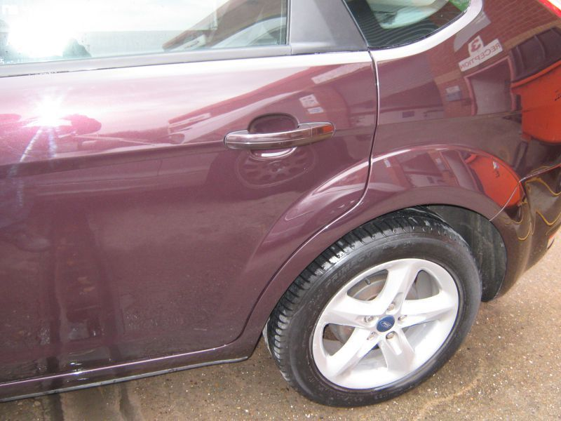Ford Car Body Repair in Nottingham by Scratchmaster (AFTER): Swipe To View More Images