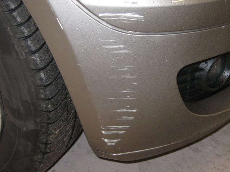 Bumper Scuff Repair in Nottingham by Scratchmaster (BEFORE): Swipe To View More Images