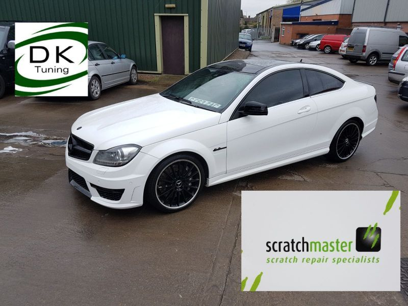 Mercedes Car Body Repair in Nottingham by Scratchmaster (AFTER): Swipe To View More Images