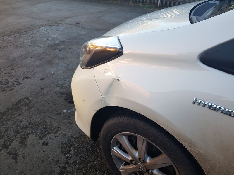 Toyota Car Body Repairs  In Nottingham at Scratchmaster (BEFORE): Swipe To View More Images