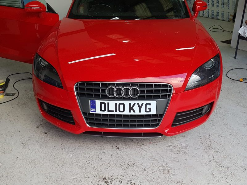 Audi Car Body Repair In Nottingham by Scratchmaster (AFTER): Swipe To View More Images