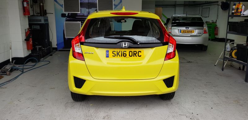Honda Car Body Repair In Nottingham by Scratchmaster (AFTER): Swipe To View More Images
