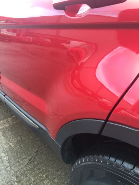 Range Rover Paint Repair Nottingham: Swipe To View More Images